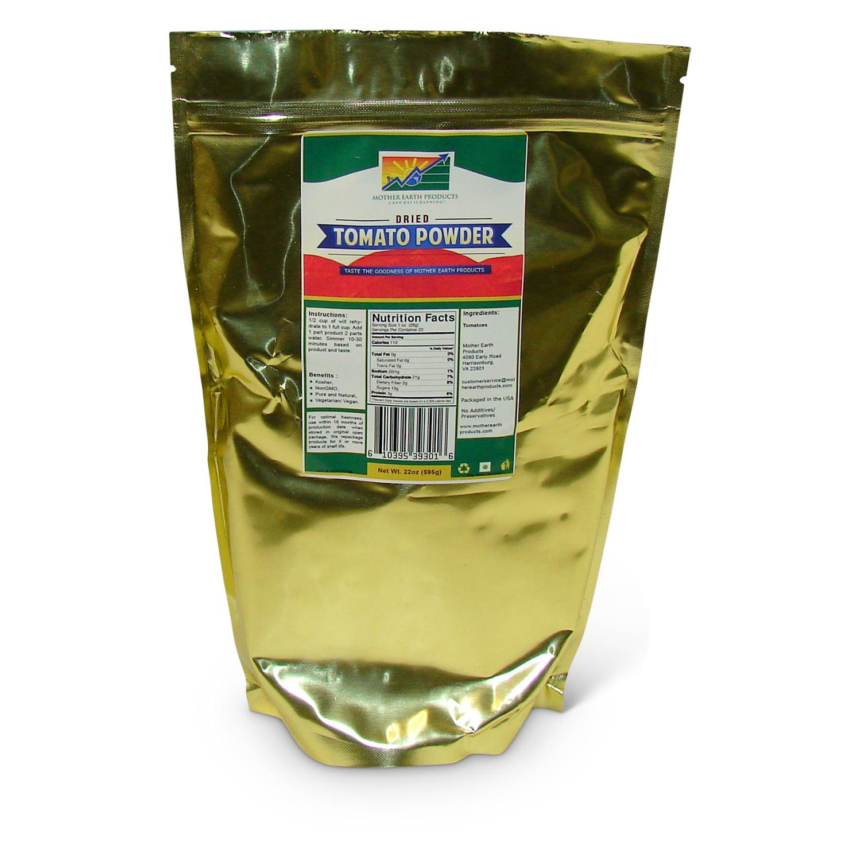 Air Dried Tomato Powder, 1 full quart Mylar Bag
