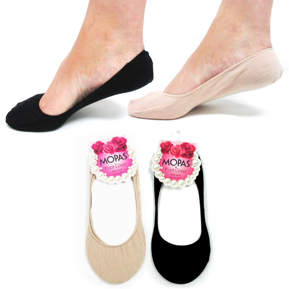 2 Pairs Womens Ladies No Show Foot Cover Peds Liner Now Show Ped Low Cut Socks !