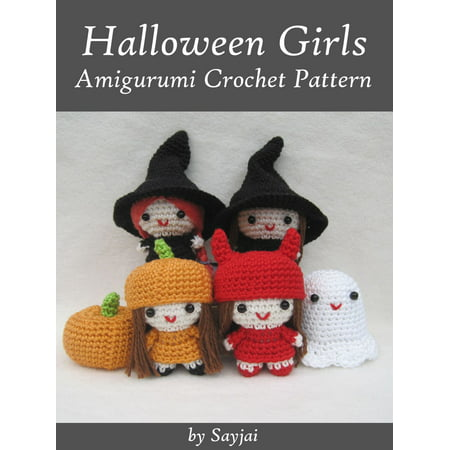 Halloween Girls Amigurumi Crochet Pattern - eBook](Halloween Pattern)