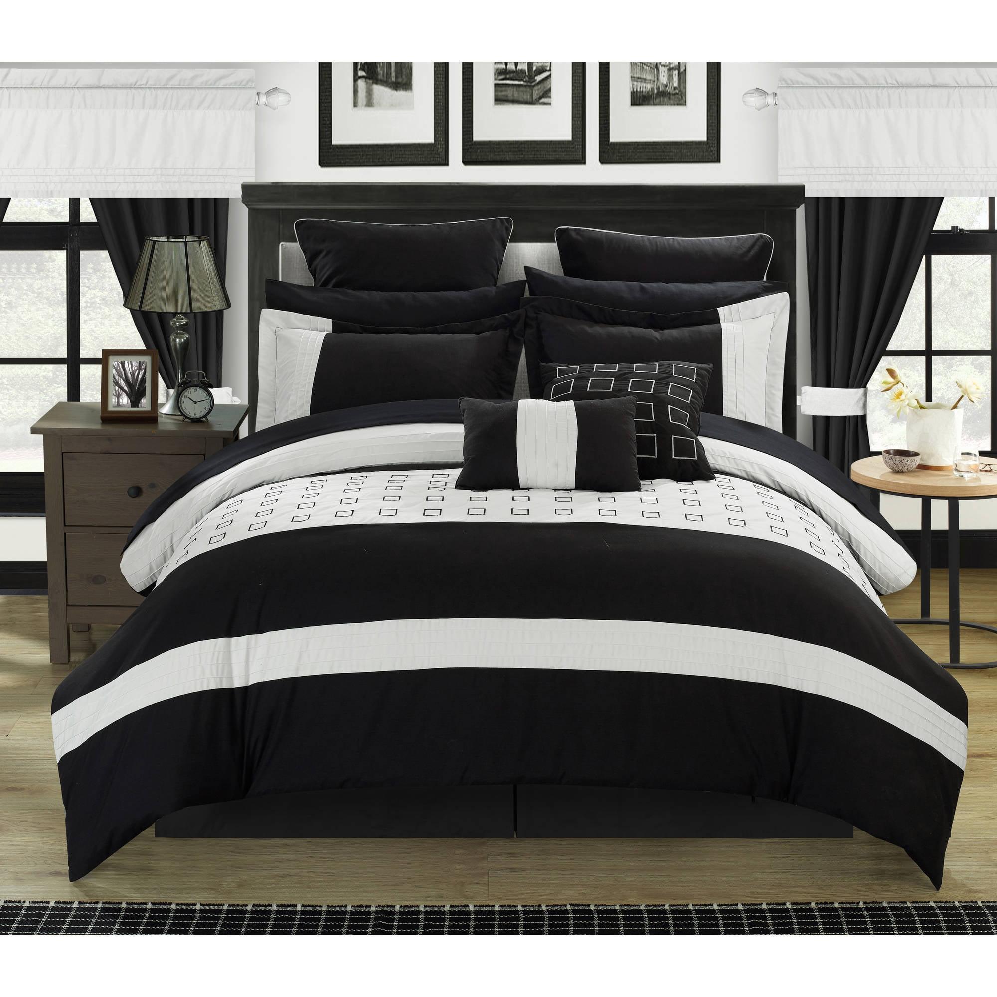 Chic Home Hubert 24-Piece Bed-in-a-Bag Comforter Set