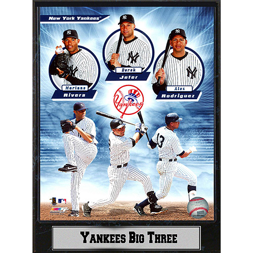 MLB New York Yankees Greats Photo Plaque, 9x12