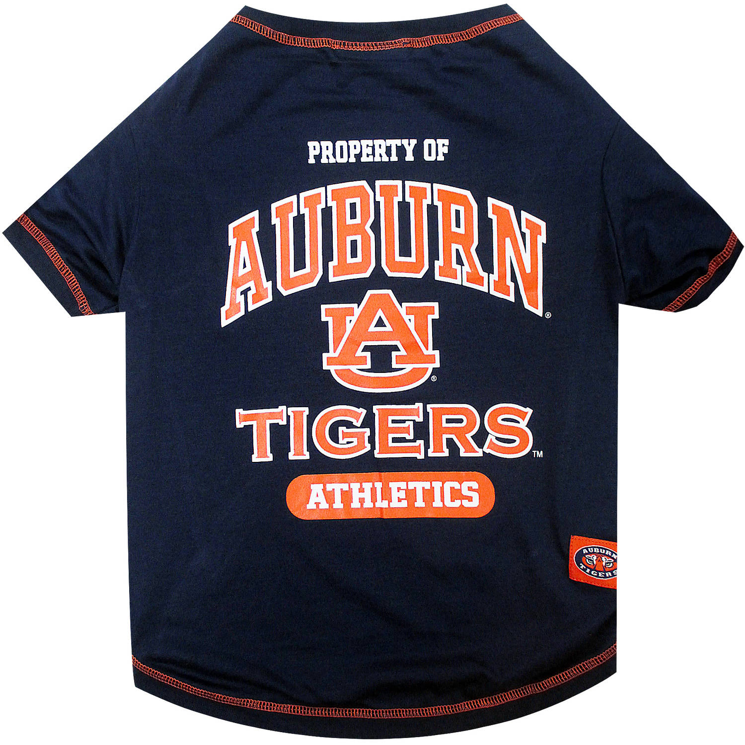 Pets First Collegiate Auburn Tigers Pet T-shirt, Assorted Sizes
