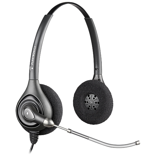 Plantronics - 73840-01 - Plantronics SupraPlus HW261 Headset - Stereo - Wired - Over-the-head - Binaural - Semi-open