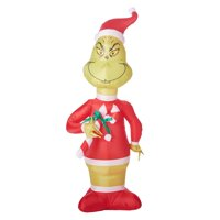christmas grinch inflatable - Grinch Christmas Decorations Amazon