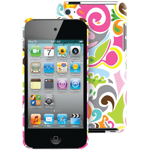 Macbeth Collection MB-T4CCC iPod Touch 4G Case, Confetti Jezebel