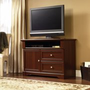 bedroom tv stand. Sauder Palladia Highboy TV Stand for TVs up to 46  Cherry Tall Stands Bedroom