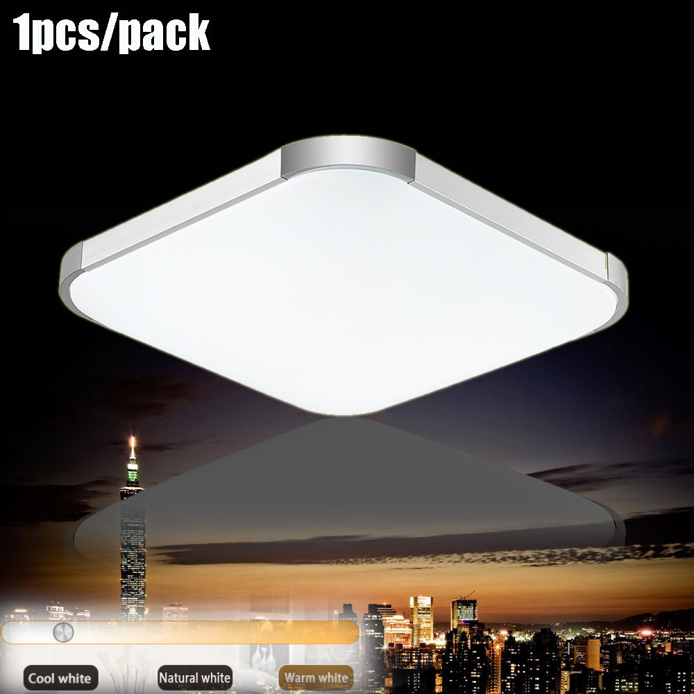 "1 pcs 36W 18"" Modern Flush Mount LED Ceiling Light Cool Fixture for Every Room by"