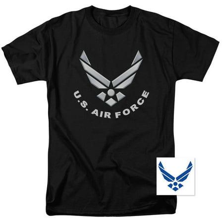 U.S. Air Force Logo T Shirt & Exclusive Sticker