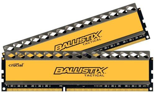Crucial Ballistix 8GB DDR3 SDRAM Memory Module - 8 GB (2 x 4 GB) - DDR3 SDRAM - 1866 MHz DDR3-1866/PC3-14900 - Non-ECC - Unbuffered - 240-pin DIMM