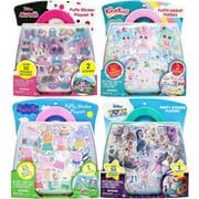 Disney Minnie Mouse Plastic Puffy Sticker Playset - multi character, multicolored