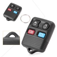 GZYF Keyless Entry Remote Control Key Fob Replacement 4-Button Uncut Blade for 2000-2012 Ford Focus & 1998-2013 Ford Explorer & 2001-2010 Ford Explorer