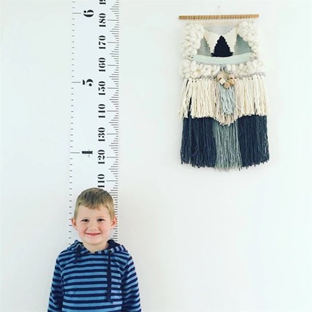 Size Chart For Children (Codream Baby Child Kids Height Ruler Kids Growth Size Chart Height Chart Measure Ruler Wall Sticker for Kids Room Home Decoration)