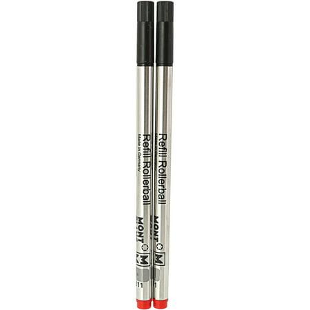 Mont Blanc Rollerball Refills Medium Pen Ink Refill 105160 Mont Blanc Fountain Pen Ink