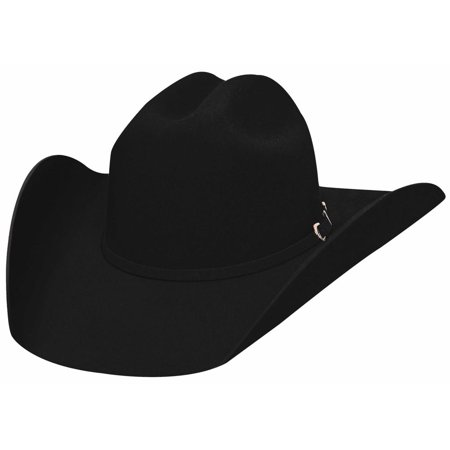 Bullhide Hats 3000Bl Rodeo Round-Up Collection Appaloosa 2X Black Cowboy Hat