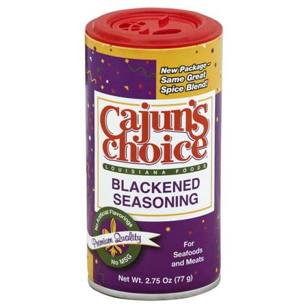Cajun's Choice Blackened Seasoning, 2.75-Ounce