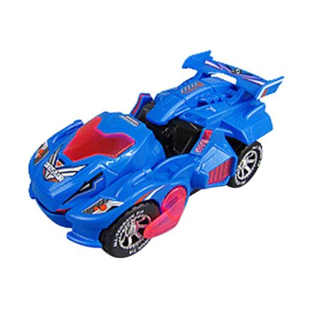 Transforming Dinosaur LED Car With Light Sound Kids Toy Christmas Gift 2019 NEW ()