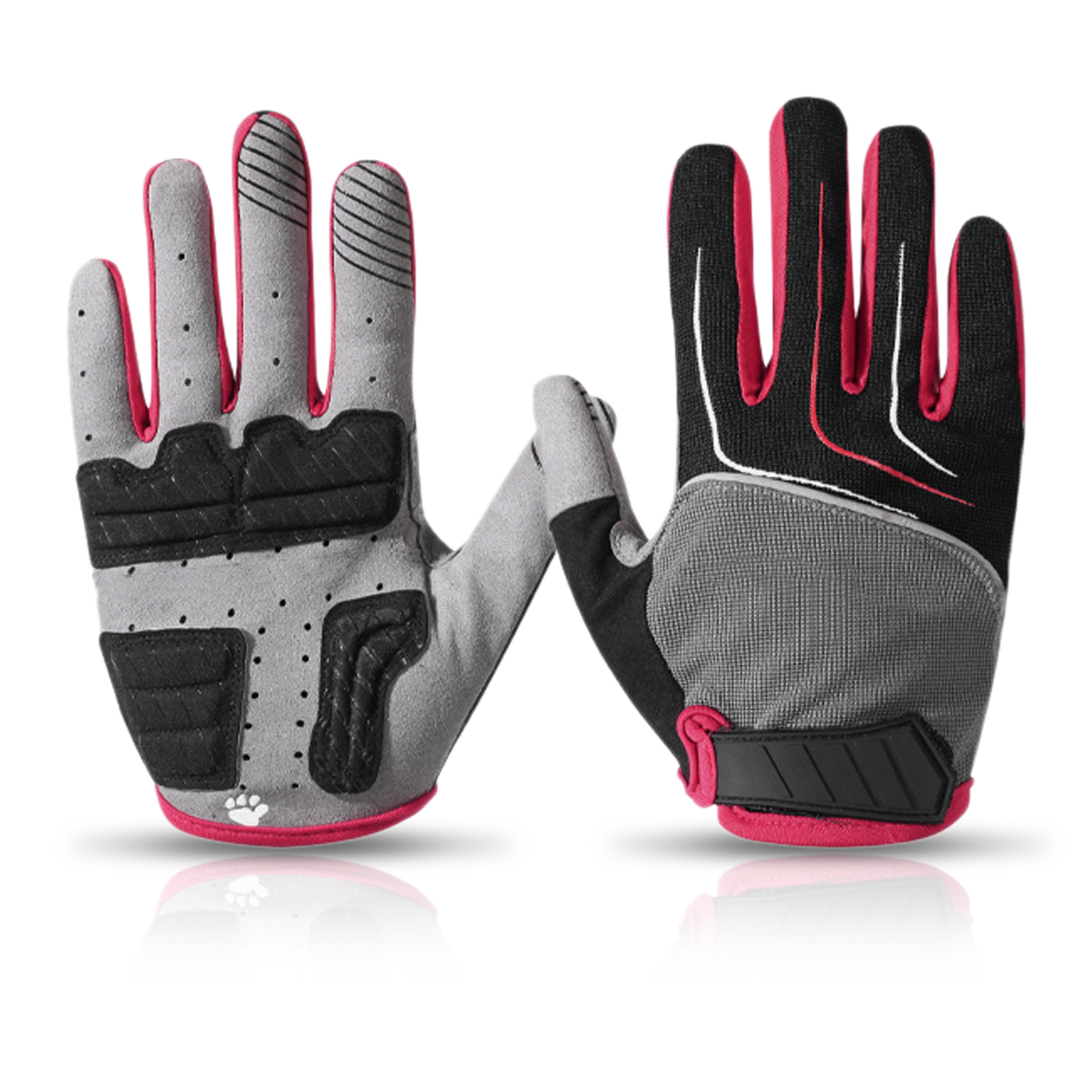 Details about  /Autumn Winter Men Women/'s Cycling Gloves  Outdoor Sports  Bike Bicycle Gloves