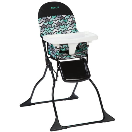 cosco simple fold high chair (Cosco Flat Fold High Chair Fruity Jungle)
