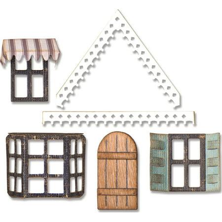 Sizzix Thinlits Die Set 7PK Village Fixer Upper by Tim -