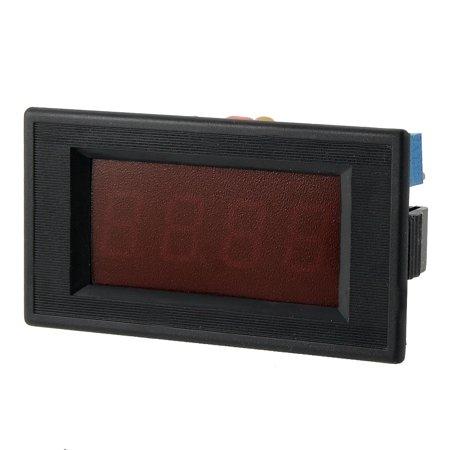 Unique Bargains Unique Bargains DC 0-200mA 3 1/2 Digital Red  Display Ampere Panel - Half Tester