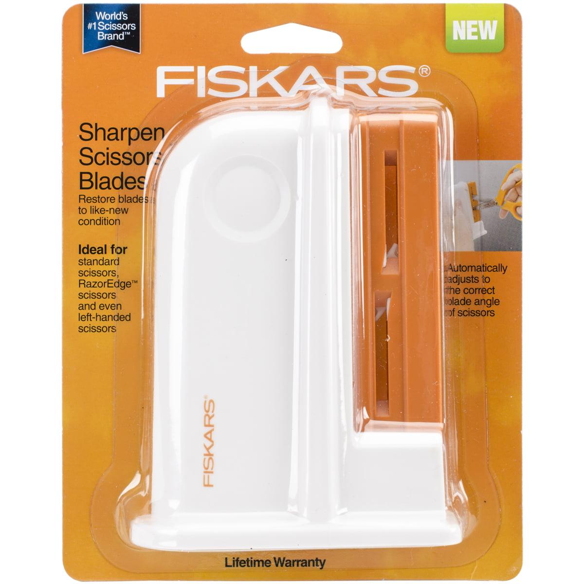 Fiskars Universal Desktop Scissors Sharpener, 1 Each