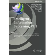 Intelligent Information Processing VIII - eBook