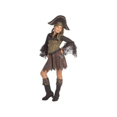 Childs Sassy Pirate Girl Costume - Sassy Samurai Costume