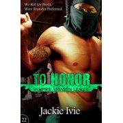 To Honor - eBook
