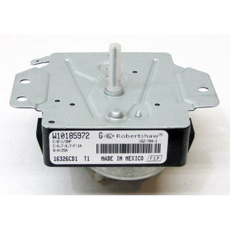 Clothes Washer Timer Control Assembly (Whirlpool Dryer Timer Control WPW10185972 AP6016537 PS11749827)