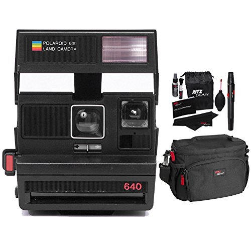 Impossible Polaroid 600 Camera, RED (PRD1495), Ritz Gear ...