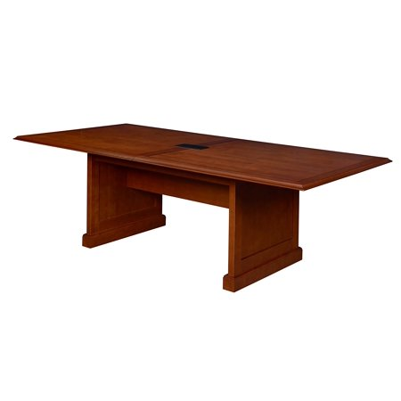 Enjoyable Prestige 96 X 48 Conference Table With Power Data Grommet Cherry Home Remodeling Inspirations Genioncuboardxyz