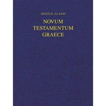 Nestle-aland Novum Testamentum Graece 28 - Na28