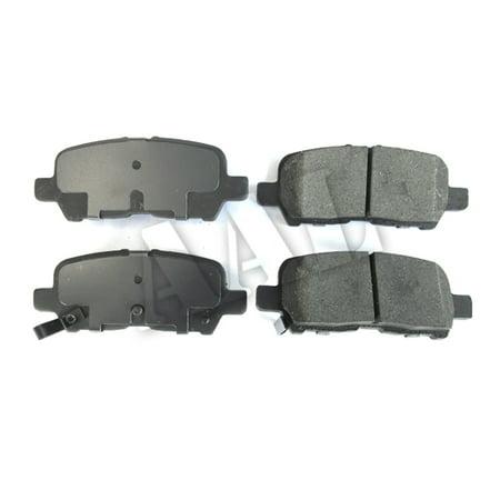 AAL Premium Ceramic Rear BRAKE PADS For 2011 2012 2013 CHEVROLET IMPALA LT/LTZ (Complete set 4 (Chevrolet Impala Brake Pads)