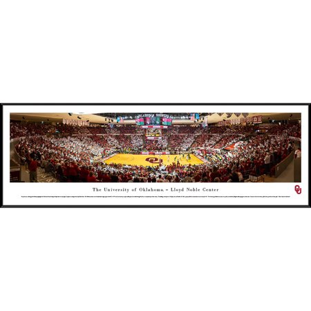Oklahoma Sooners Basketball at Lloyd Noble Center - Blakeway Panoramas NCAA College Print with Standard (Lloyds Center)