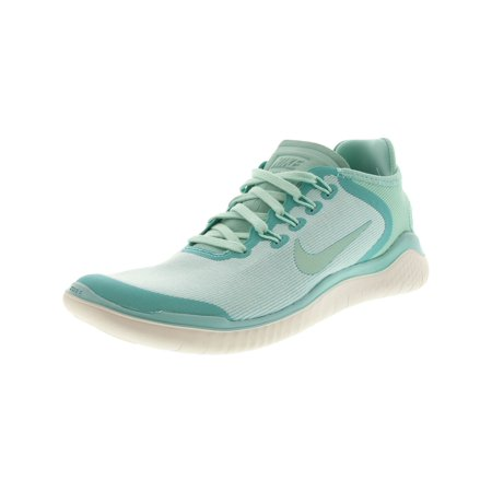 reputable site ffd73 1de36 Nike Women's Free Rn 2018 Sun - 7.5M - Island Green / Igloo ...