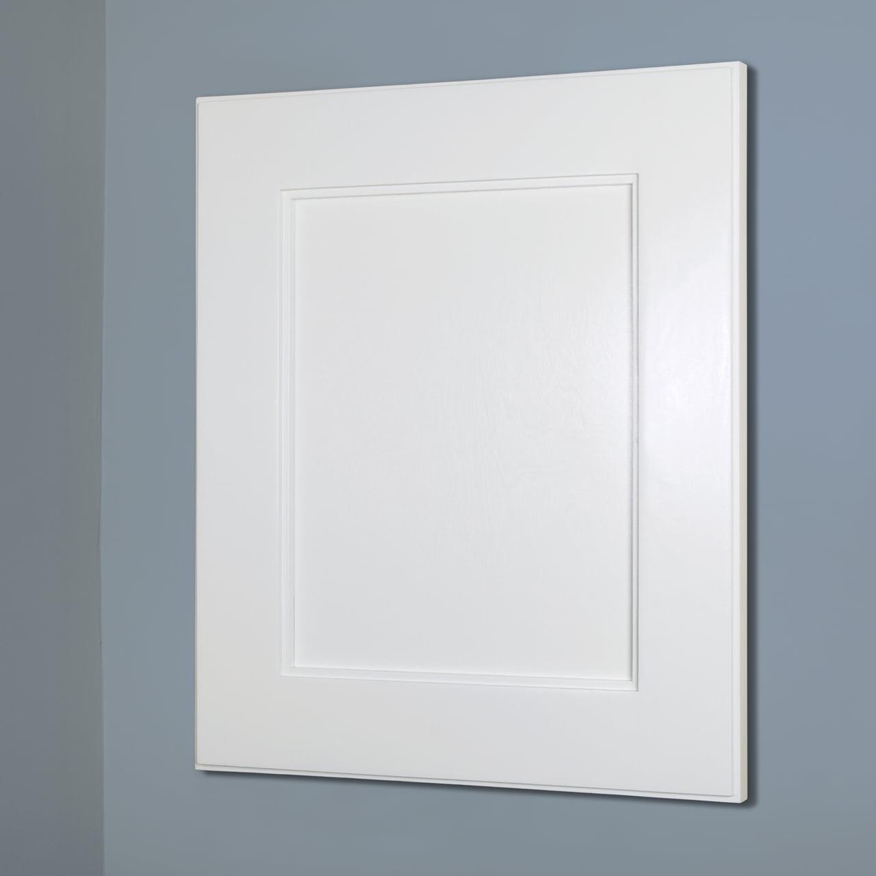 14x18 White Shaker Style Recessed Medicine Cabinet With No Mirror Walmart Com Walmart Com