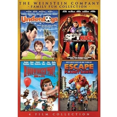 Family Fun Collection: Underdogs / Spy Kids 4: All The Time In The World / Hood Vs. Evil / Escape From Planet Earth (Widescreen)