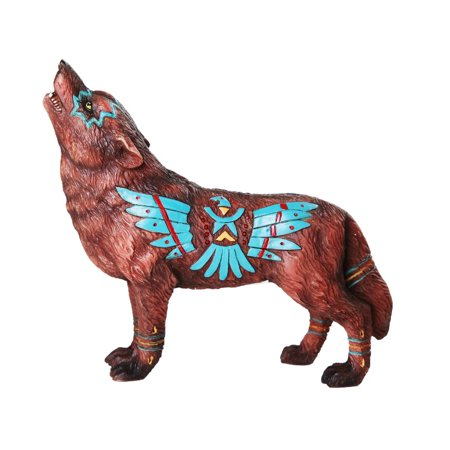 The Wolf Spirit Collection Eagle Wolf Spirit Collectible Figurine](Wolf Spirit)