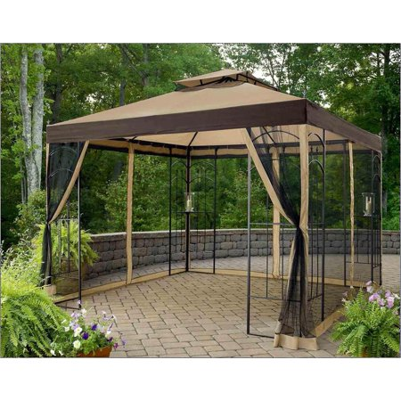 Sunjoy Replacement Mosquito Netting for L-GZ038PST-3A1 10X10 Winslow Gazebo