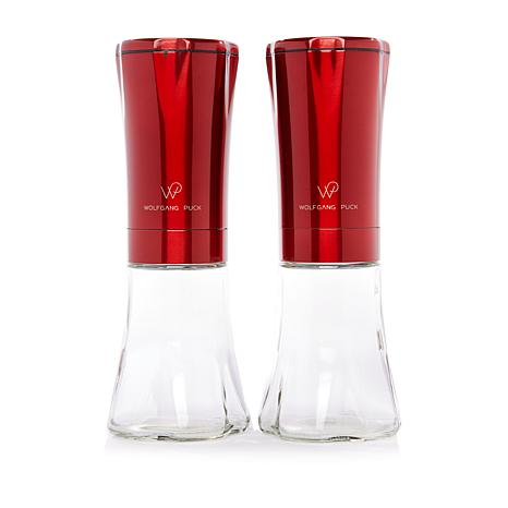 Wolfgang Puck Electric Gravity Spice Mill Set