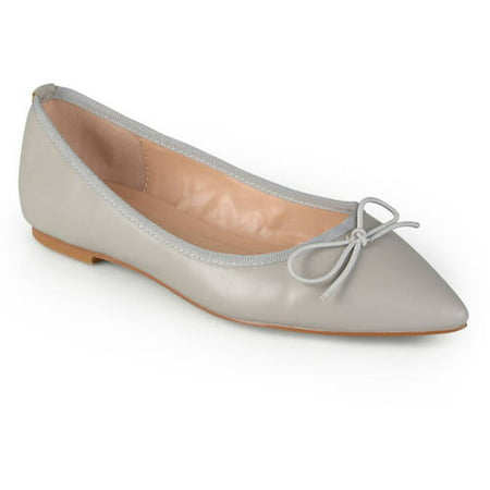 Womens Classic Bow Pointed Toe Casual Ballet Flats](Tween Camel Toes)