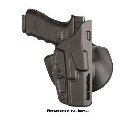 Safariland 7378 7TS ALS Concealment Paddle Holster, Glock 17 22 STX Plain Black, by SAFARILAND