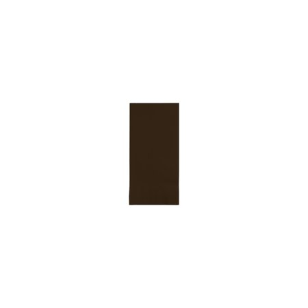 - 2 Ply 1/8 Fold Dinner Napkins Chocolate Brown/Case of 600