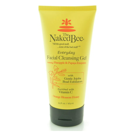 The Naked Bee Orange Blossom Honey Everyday Facial Cleansing