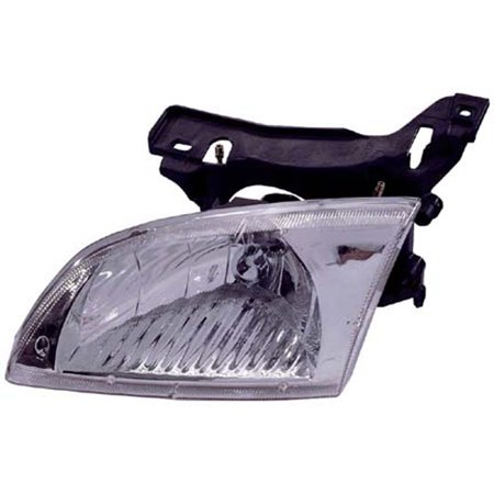 2000-2002 Chevrolet Cavalier  Passenger Side Right Head Lamp Assembly incl Mounting Bracket -