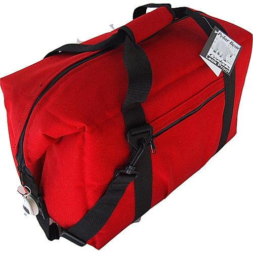 Polar Bear Coolers 24 Pack Soft Side Cooler - Red