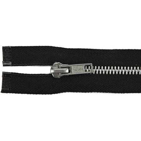 (Heavyweight Aluminum Separating Metal Zipper 18