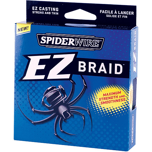 Spiderwire EZ Braid Fishing Line, Moss Green by Spiderwire