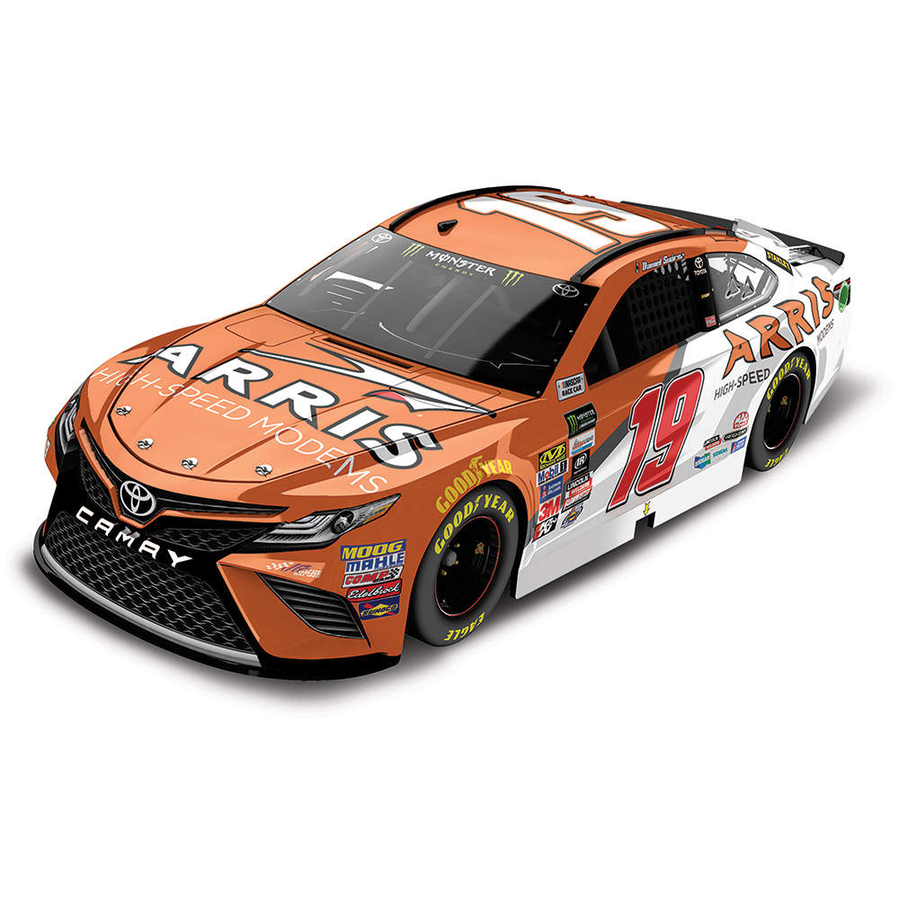 Action Racing Daniel Suarez 2017 #19 ARRIS 1:24 Monster Energy Nascar Cup Series Die-Cast... by Lionel LLC