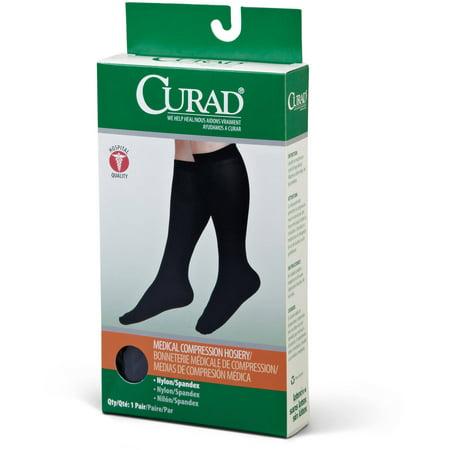 Curad Knee-High Compression Hosiery 8-15mmHg